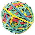 "Rubber Band Ball, 3"" Size, 2 3/4"" Length, 260 Bands"