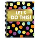 Teacher Planners, Celebrate Learning Theme, 11 x 8 1/2, Black