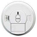Front-Load Smoke Alarm w/Mounting Bracket, Hush Feature