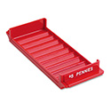 Porta-Count System Rolled Coin Plastic Storage Tray, Red