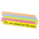 Sentence Strips, 24 X 3, Assorted Bright Colors, 100/pack