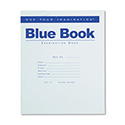 Exam Blue Book, Legal Rule, 8 1/2 x 7, White, 8 Sheets/16 Pages
