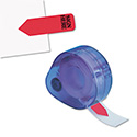 "Arrow Message Page Flags In Dispenser, ""sign Here"", Red, 120/dispenser"