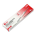 "Self-Adhesive Paper File Fasteners, 2"" Capacity, 2 3/4"" Center, 100/Box"