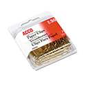 "Paper Clips, Metal Wire, Jumbo, 1 3/4"", Gold Tone, 50/box"