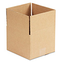Brown Corrugated - Fixed-Depth Shipping Boxes, 8l x 8w x 6h, 25/Bundle