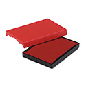Trodat T4727 Dater Replacement Pad, 1 5/8 x 2 1/2, Red