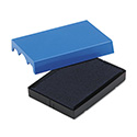 Trodat T4729 Dater Replacement Pad, 1 9/16 x 2, Blue