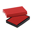 Trodat T4729 Dater Replacement Pad, 1 9/16 X 2, Red