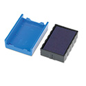 Trodat T4850 Dater Replacement Pad, 3/16 x 1, Blue