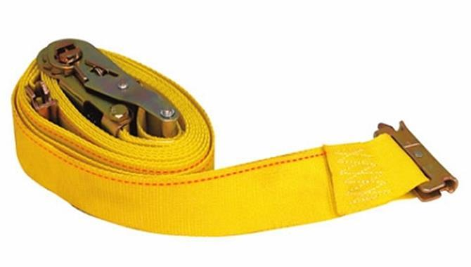 Ratchet Tie- down strap with E track Fitting 12 Foot #40076
